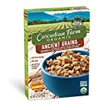 Cascadian Farm Organic Granola, Ancient Grains Cereal, 12.5 oz (Pack of 6)