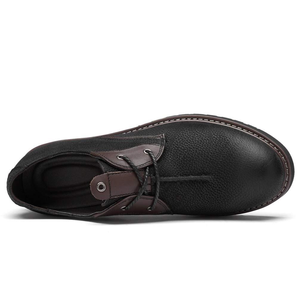 Yajie-stivali Scarpe da Uomo Stivali Stivali Stivali Scarpa da Lavoro di Sicurezza Antiscivolo in Pelle Scamosciata da Uomo (Colore   Nero, Dimensione   41 EU) 884c7f