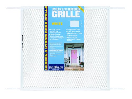 ADFORS Screen & Storm Door Grille, 24'' x 26'' x 34'', White by Saint-Gobain ADFORS