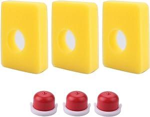 Venseri 799579 Air Filter for Briggs & Stratton 5434 4248 08P502 09P602 09P702 300E 450E 500E Series Engine with Primer Bulb