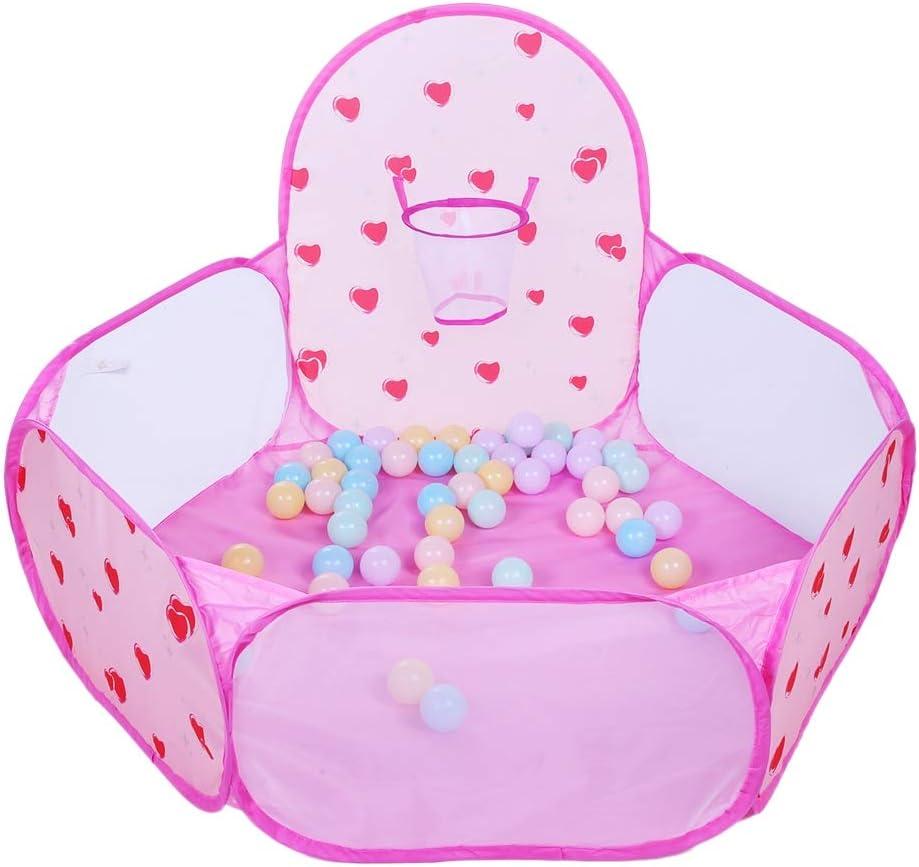 Bola para bebés plegable Poit Pit con una canasta de baloncesto ...