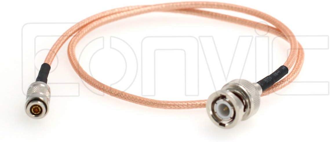 1M//39inch Eonvic RG179 Male HD SDI BNC SmallRig Blackmagic Camera Video Assist SDI Cable