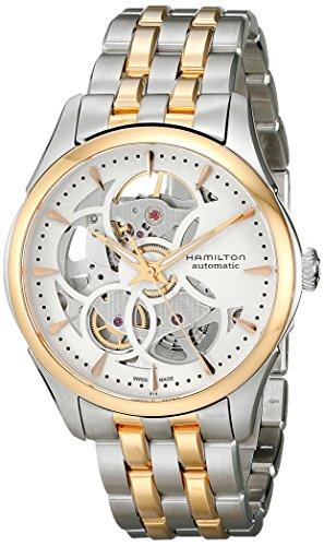 Hamilton Women's H32425251 Jazzmaster Analog Display Automatic Self Wind Silver Watch