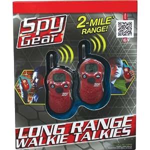 Spy Gear Long Range Walkie Talkies Toys Games