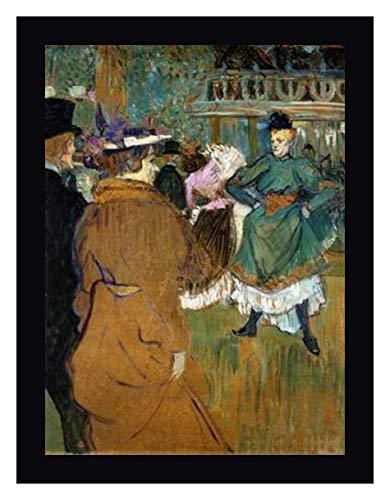 Quadrille at The Moulin Rouge by Henri Toulouse-Lautrec 16