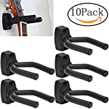 Banjos Mandolins Electric Bass Guitar Stringed Musical Instrument Wall Hanger Mount Holder Hook Pack of 10
