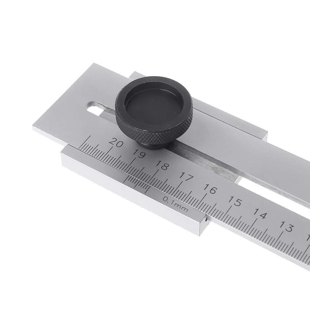 ZChun Outil parall/èle de disposition de grattoir de coupe de vis de jauge de marquage de bois de 200mm 0.1mm