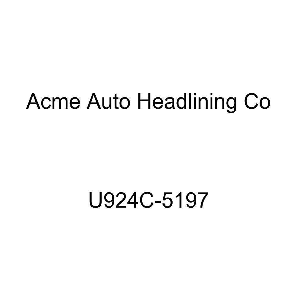 Acme U924C-5197 Front and Rear Camel Vinyl Bench Seat Upholstery