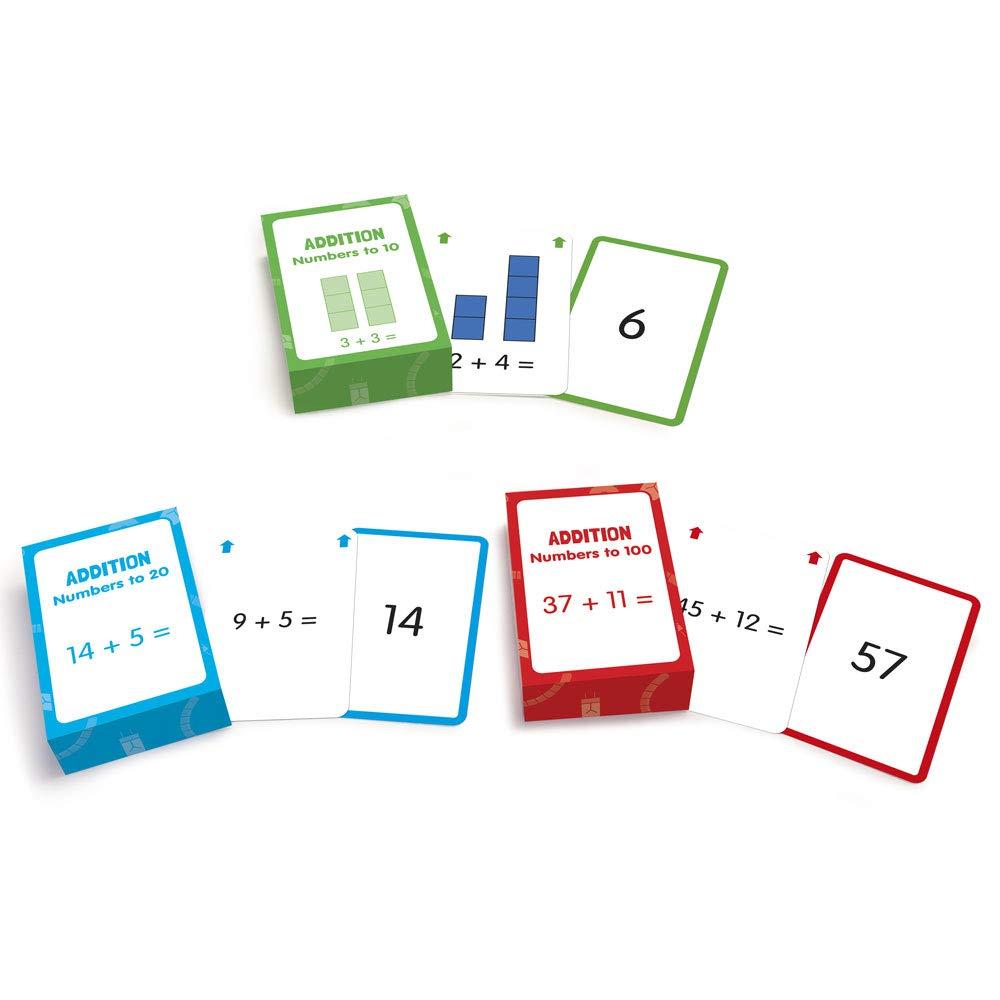 JL204 Junior Learning Addition Flash Cards Inc