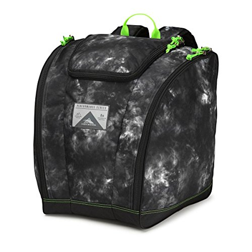High Sierra Trapezoid Boot Bag, Atmosphere/Black/Zest