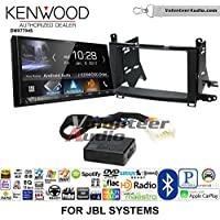 Volunteer Audio Kenwood DMX7704S Double Din Radio Install Kit with Apple CarPlay Android Auto Bluetooth Fits 2009-2015 Toyota Venza with Amplified System