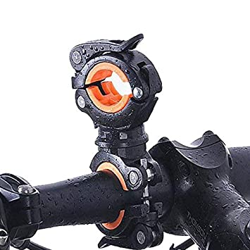 Soojet Bfh 02 Universal Bike Torch Clip 360 Degree Rotatable