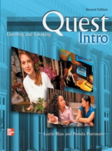 Quest Listening and Speaking Intro Student Book, 2nd Edition