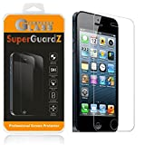 [2-Pack] For iPhone SE / 5S / 5C / 5 - SuperGuardZ Tempered Glass Screen Protector - 9H, 0.3mm, 2.5D Round Edge, Anti-Scratch, Anti-Bubble