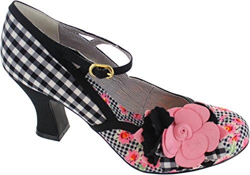 Ruby Shoo  Dee, Escarpins pour femme noir noir - multicolore - noir/rose,