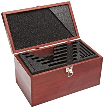 "Starrett 956 Case For 0-6"" And 0-150mm Micrometer Set"