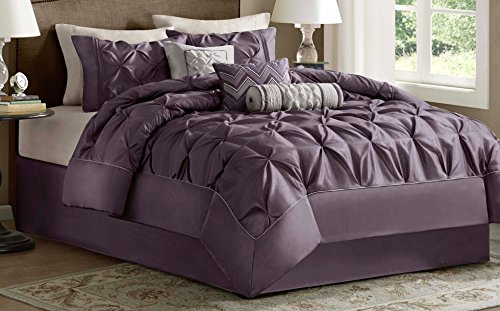 Comforter Set, California King, Plum (California King Contemporary Comforter)
