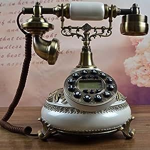 Moda de teléfono de teléfono antiguo teléfono retro teléfono fijo