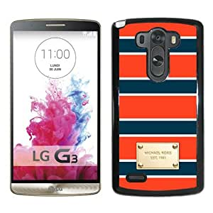 LG G3 Screen Case ,Beautiful Lovely Case NW7I 123 Case M ichael-K ors 79 Black LG G3 Cover Case Fashion And Durable Designed Phone Case