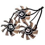PLA08015D12HH 75mm DC 12V 0.35A 42mm 4Pin Graphics Video Card Cooling Fan