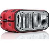 Braven BRV-1M Portable Wireless Bluetooth Speaker (Red)