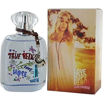 True Religion Love Hope Denim Parfum for Women, 3.4 Ounce
