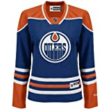 Ladies' Edmonton Oilers NHL Reebok Premier Royal Blue Jersey