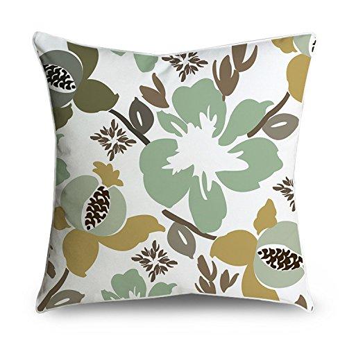 fabricmcc funda de almohada Hawaii diseño de flores decorar ...