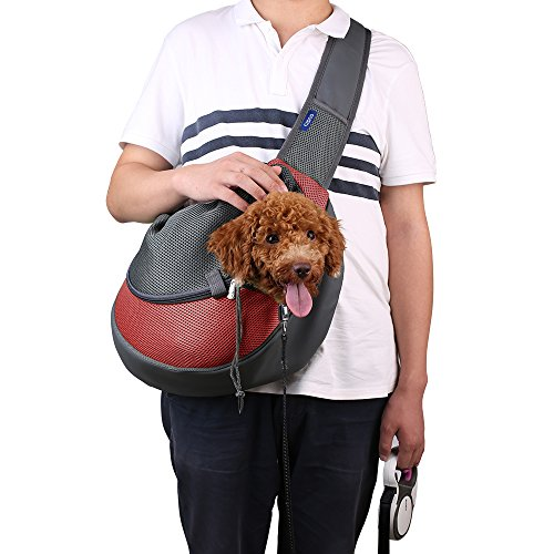 CISNO Small Pet Dog Cat Kitty Carry Carrier Outdoor Trave...
