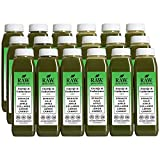 Raw Generation Energy & Endurance Juice - High Protein Green Juice / Healthiest Way to Lose Weight & Stay Strong / 18 Count