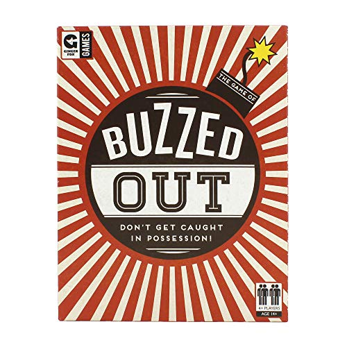 Ginger Fox Buzzed Out Quick Fire Card Game - Enjoy Hours of Family Fun with This Addictive & Fast Describing Game