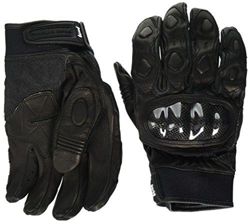 Power Trip Grand National Men's Motorcycle Gloves (Black, Medium)