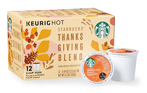 Starbucks Thanksgiving Blend K Cup - 12 Count