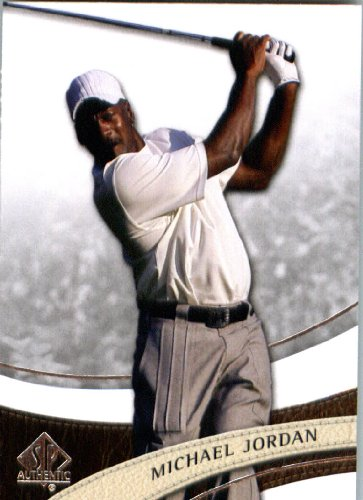 - 2014 Upper Deck SP Authentic Golf Trading Card # 23 Michael Jordan