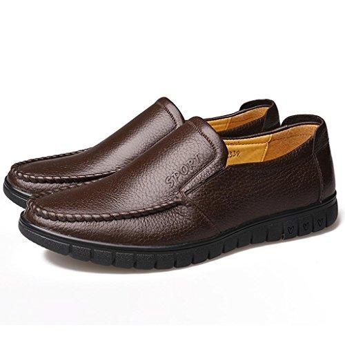 Zapatos Zapatos Libre Zapatos Hombre de amp;M de Ancianos Aire Brown Trabajo Zapatos Zapatos para M conducción de de Negocios al q510nx