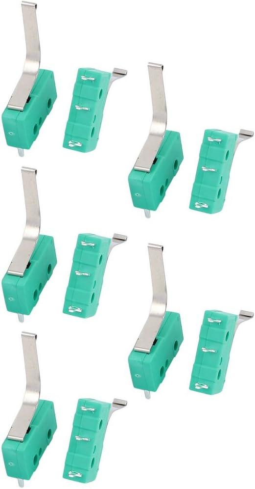 125V 3A 3 Terminal Moment/áneo 20mm Palanca Micro Interruptor Verde KW12-91S Aexit 10 Unids AC250 d03c79c0ab7da369ae7b6effc686bd54