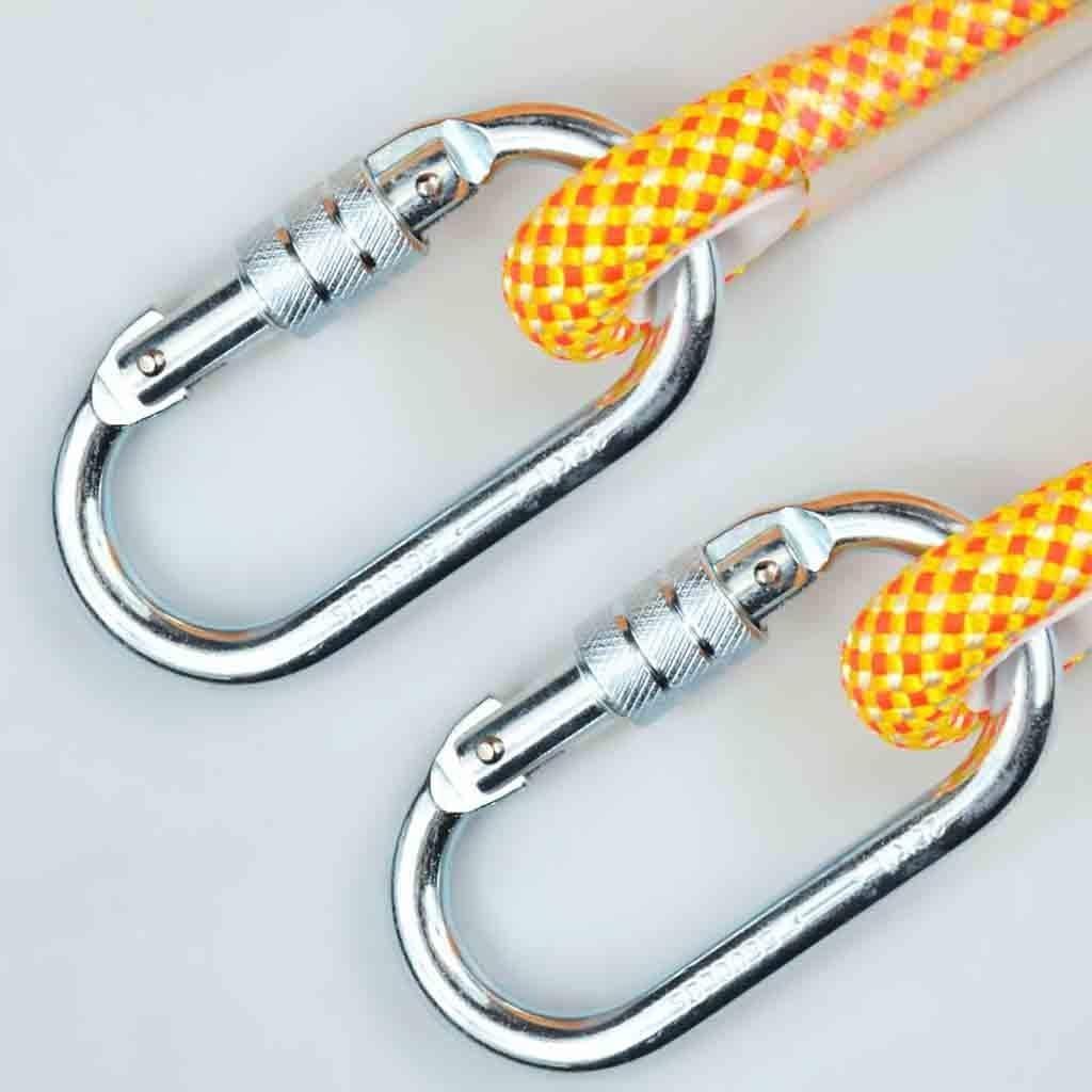 YXwssa Equipo de Escalada Cuerda de Seguridad Amarilla Anti ...
