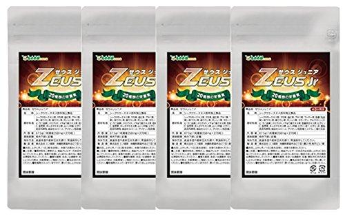 ゼウスJr (1粒に20種類もの栄養素を凝縮) (約3ヶ月分/270粒) B00JP12WL0 約3ケ月分  約3ケ月分