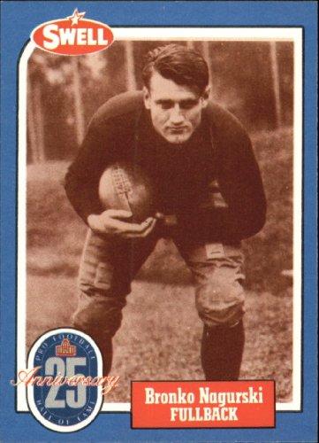 1988 Swell Greats Football Card #89 Bronko Nagurski Mint