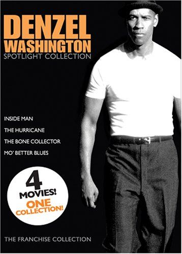 Bernstein Collectors - Denzel Washington Spotlight Collection: Inside Man / The Hurricane / The Bone Collector / Mo' Better Blues