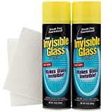 Invisible Glass Stoner and with 2 Lint Free Cloths