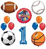 Best Ultimate Sports - The Ultimate Sports Theme 1st Birthday Party Supplies Review