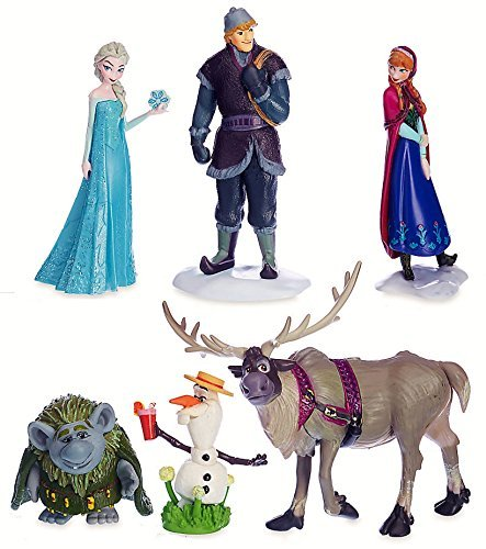 Disney Frozen Characters - Disney Frozen Figurine Play