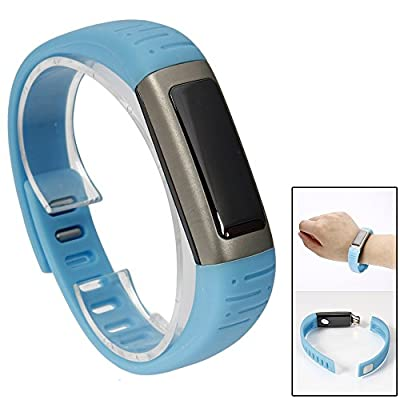 Waterproof U9 Bluetooth Smart Watch Bracelet Fitness Activity Tracker Wifi for Android Iphone (Blue)