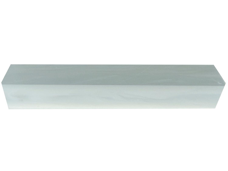 Turners Mill White Pearl Kirinite Acrylic Pen Blank - 150x20x20mm   (5.9x0.79x0.79 ) af03d6b3cc6c