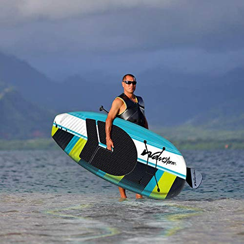 Wavestorm 9ft6 Stand Up Paddleboard // Foam Wax Free Soft Top SUP for Adults and Kids of all levels of Paddling
