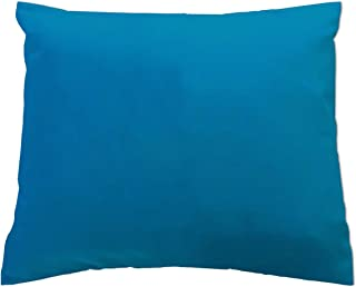 product image for SheetWorld Crib / Toddler Percale Baby Pillow Case - Baby Pillow Case - Turquoise Jersey Knit - Made In USA