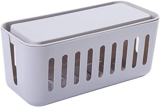 Caja de bridas GCDN, caja de alambre para guardar cables ocultos y ...