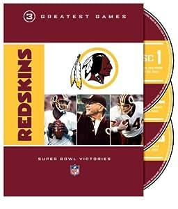 NFL: Washington Redskins - 3 Greatest Games [Import]