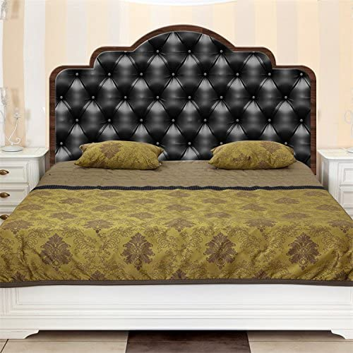 Amazon Com Amazing Wall Queen Size Modern Headboard Sticker Bedroom Decor Art Decal Mural Peel And Stick Home Bed Wallpaper Home Kitchen